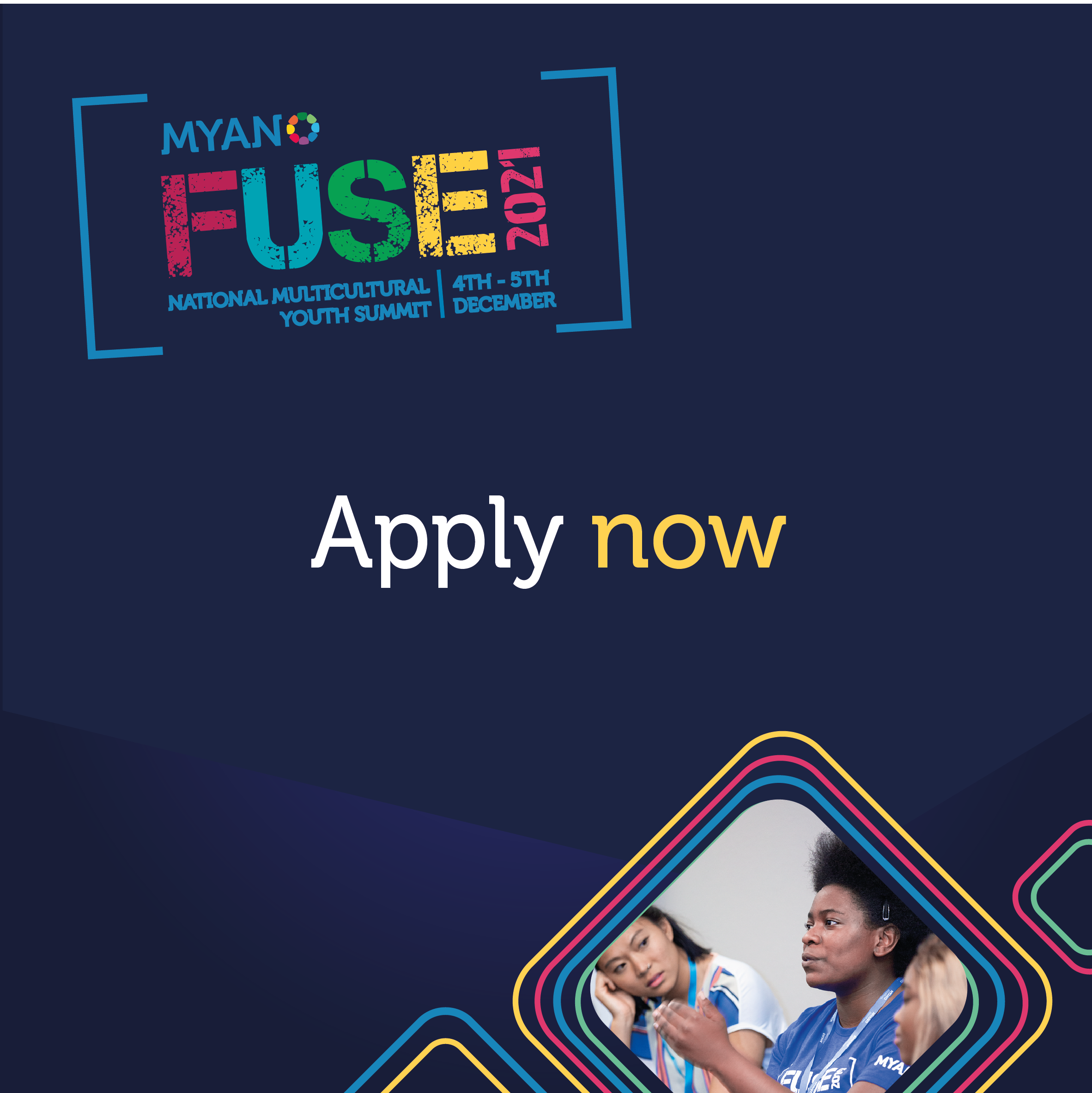 FUSE 2021 MYAN National Multicultural Youth Summit 4th - 5th December Apply Now