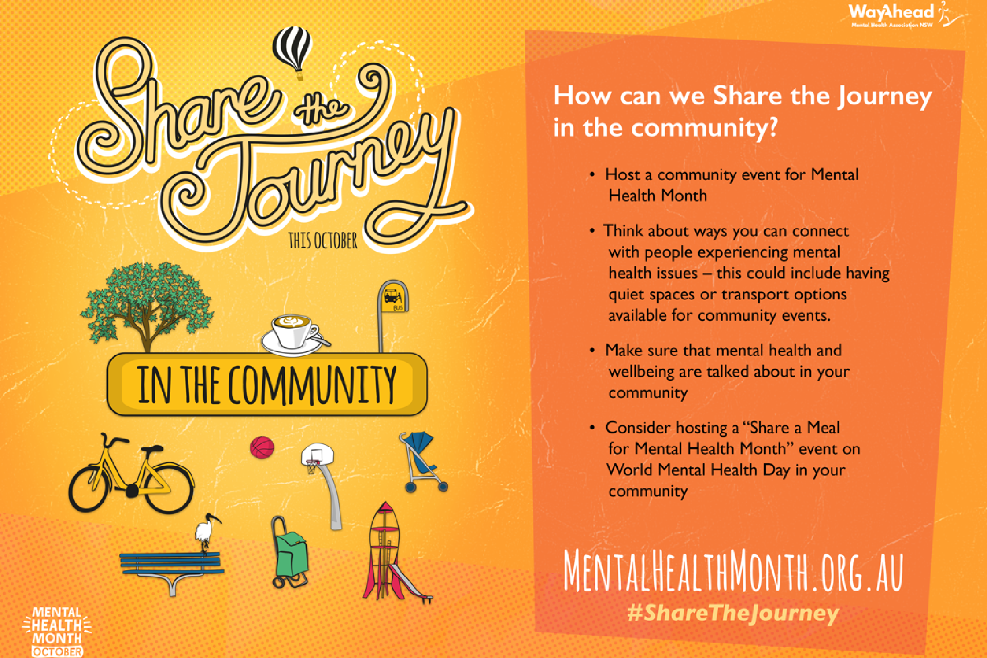 Mental Health Month 2019 Share the Journey in the Community