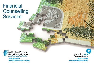 Financial Counselling  Program Postcard Image