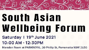 South Asian Wellbeing Forum