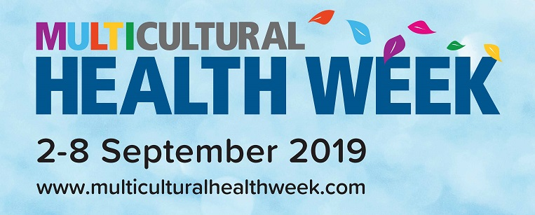 Multicultural Health Week 2019 Logo